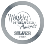 2015 Whiskies of the World Silver Medal